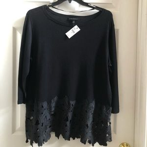 Lane Bryant Black Sweater.